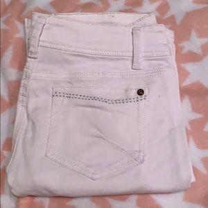 NWOT white jean capris